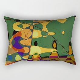 credibility wave Rectangular Pillow
