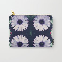 Pristine Petal Pattern Carry-All Pouch