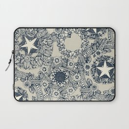 cirque fleur stone Laptop Sleeve