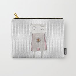 Robot superhero Carry-All Pouch