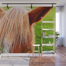 Beautiful Blond Mare Wall Mural