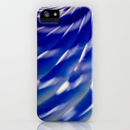 Shelled Blue iPhone Case