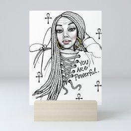 #STUKGIRL ASHLITA Mini Art Print