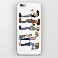 cargline iPhone & iPod Skins featuring Another 1D poster by cargline
