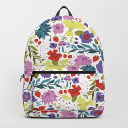 Mountain Woman Pattern Backpack