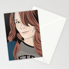 The target of my adoration Stationery Cards