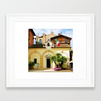 building Framed Art Prints featuring Building by Angela Smith
