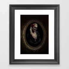 Out of the Skeletal Past Framed Art Print