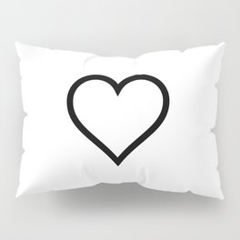 Simple Heart Pillow Sham