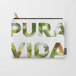 Pura Vida Costa Rica Palm Trees Carry-All Pouch