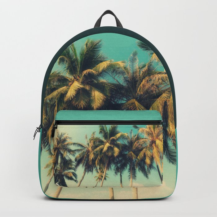 tropical trees in florida Backpack