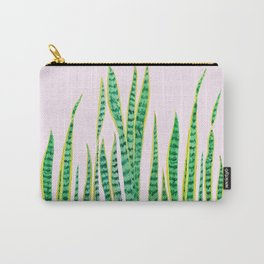 snake plant painting Carry-All Pouch