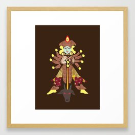 Art of Goddess Durga Framed Art Print