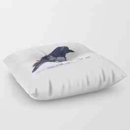 Crow #2 Floor Pillow