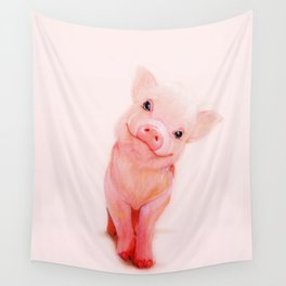 Mr. Piglet Wall Tapestry