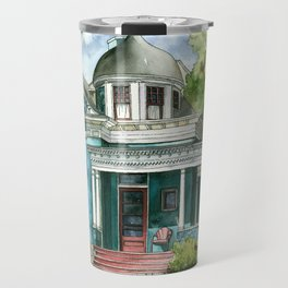 The House with Red Trim Travel Mug