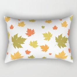 Autumm Leaves Rectangular Pillow