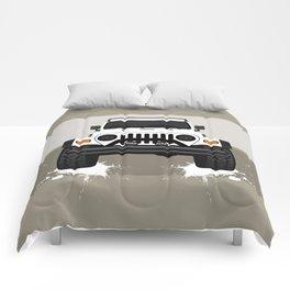 [JEEP] White TJ Comforters