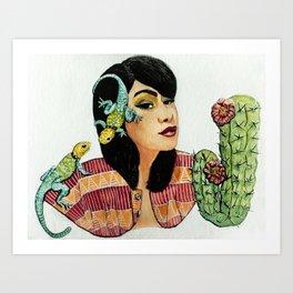 Aiyana Art Print