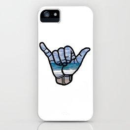 Beach Hang Loose iPhone Case