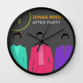 jonas brothers album 2020 dede4 Wall Clock