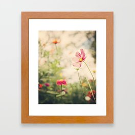 Cosmos dreaming Framed Art Print