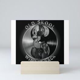 old skool dj Mini Art Print