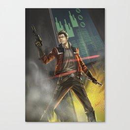 Agent Shan Canvas Print