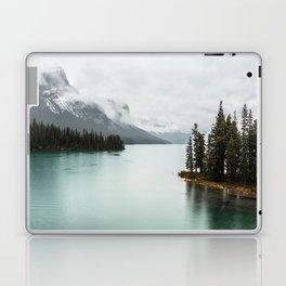 Landscape Photography Maligne Lake Laptop & iPad Skin
