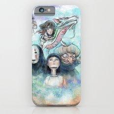 Spirited Away Watercolor Painting iPhone 6 Slim Case
