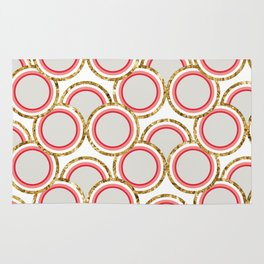 Petite Glitter circles collection Rug