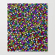 Bubble GUM Colorful Balls Canvas Print