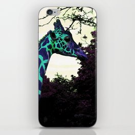 Alien Giraffe Has Landed iPhone Skin
