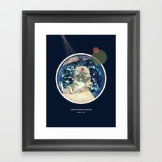 Withovt Maps or Svpplies Framed Art Print