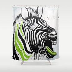 Zebra Streetstyle Shower Curtain
