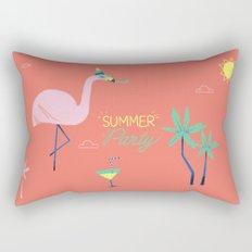 Corail Flamingo Rectangular Pillow