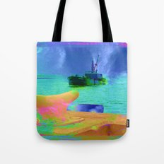 View of The Lady In Waiting Tote Bag