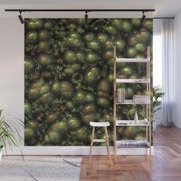 Freaky Organics 13 olive Wall Mural