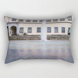 Castle fountain Rectangular Pillow