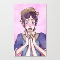 fire emblem Canvas Prints featuring Donnel - Fire Emblem Confession by Audienta
