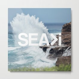 SEA>i | HEAVEN'S POINT Metal Print