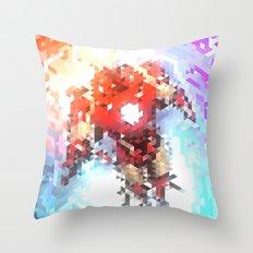 Arc Reacting Throw Pillow