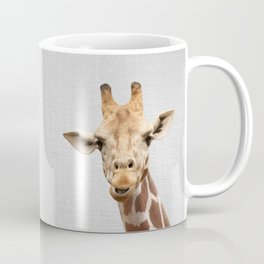 Giraffe 2 - Colorful Coffee Mug