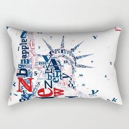 Lady Liberty Rectangular Pillow