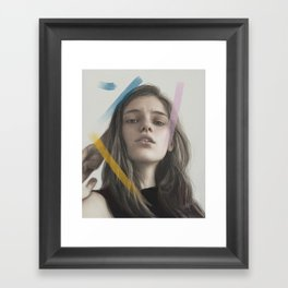 Inga Framed Art Print