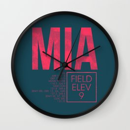 MIA II Wall Clock