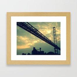 lüttich. Framed Art Print