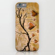 Der Liebesbaum (in Acryl) Slim Case iPhone 6s