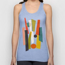Sticks and Stones Unisex Tank Top