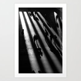 Tate Modern - Black and White Art Print